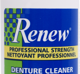 Renew Denture Cleaner, Denture Cleanser, Denture Cleaner